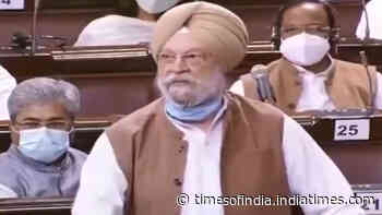 Union minister Hardeep Singh Puri hits out at Opposition over vaccine politics
