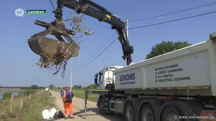 Burgemeester Lanaken vraagt Vlaamse steun bij opruimingswerken