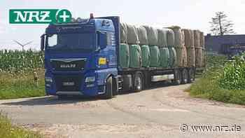 Isselburg: Landwirte helfen mit Gütern in der Unwetterregion - NRZ