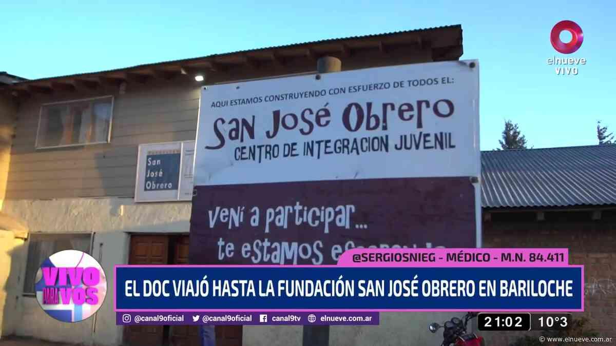 Conocimos la fundación San José Obrero en Bariloche - Noticias, Vivo Para Vos (Clips) - telenueve