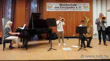 Große Talente verabschieden sich von der Musikschule in Meppen - NOZ
