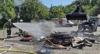Die freiwillige Feuerwehr Mutterstadt informiert: Einsätze im Juni 2021 - Mutterstadt - Wochenblatt-Reporter