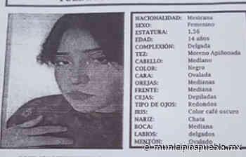 Yuliana de 14 años desapareció en la colonia Los Cerritos en Puebla - Municipios Puebla