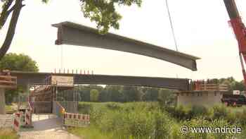 Sande: Neue Brücke für Ems-Jade-Kanal - NDR.de