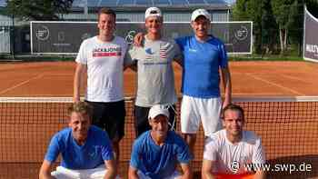 Tennis: Husarenstreich der Herren 1 des TC Dettingen in der Verbandsliga - SWP