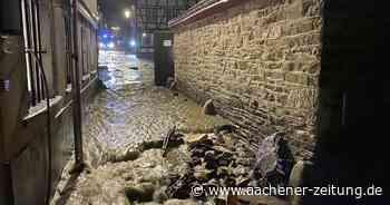 Hochwasser in Monschau: Flutwelle vom Laufenbach - Aachener Zeitung