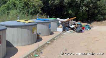 L'incivisme fait rage à Porto-Vecchio et les poubelles débordent - Corse-Matin
