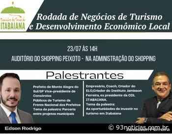 Rota Caminhos da Serra de Itabaiana promove 1° rodada de negócios de turismo e desenvolvimento local - 93Notícias