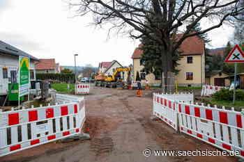 Freital: Bald freie Fahrt in Gombsen - Sächsische.de