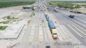 Nuevo Laredo: La Garita del kilómetro 26 está en ruinas; atora a viajeros - El Mañana de Nuevo Laredo
