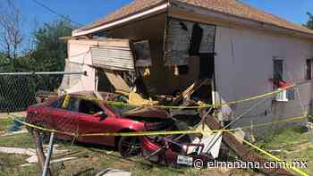 Laredo, Texas: Se metió a la recámara con todo y auto (FOTOS) - El Mañana