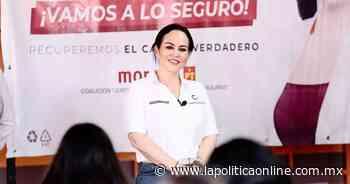 Alcaldesa electa de Nuevo Laredo pide a García dejar el oportunismo político - La Política Online MX