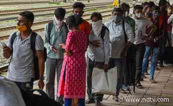 Covid Negative Report Must For Travellers From States With High Coronavirus Cases: UP - NDTV