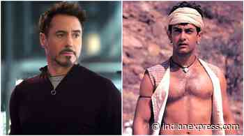When Robert Downey Jr showered praise on Aamir Khan's Lagaan, called him 'Tom Hanks of India' - The Indian Express