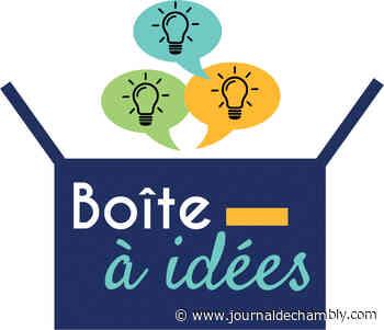 Une boîte à idées virtuelles - Le journal de Chambly - Le Journal de Chambly