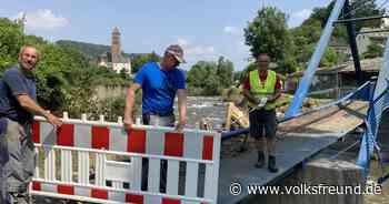 Schadensermittlung in Daun, Gerolstein, Hillesheim nach Hochwasser - Trierischer Volksfreund