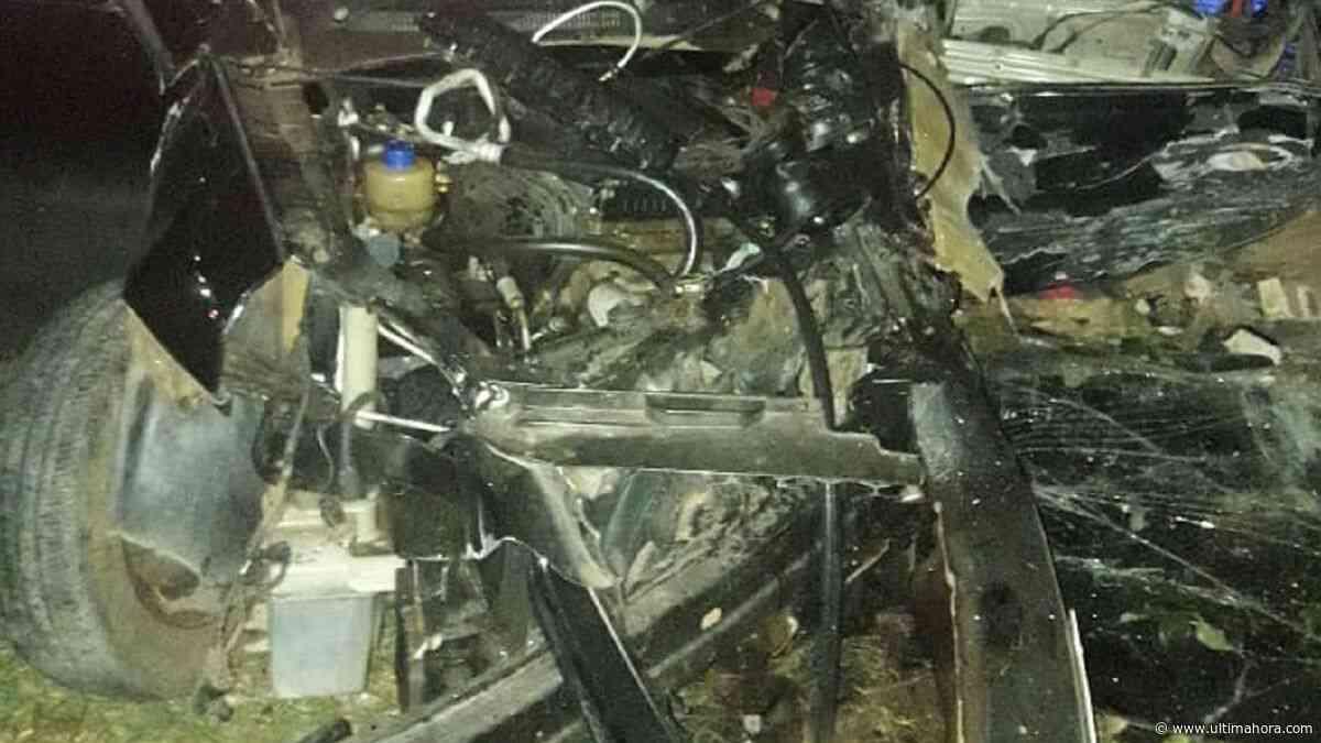 Joven muere en un accidente de tránsito en Villa Elisa - ÚltimaHora.com