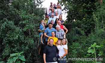 Eine Treppe verbindet die Nachbarn - Region Schwandorf - Nachrichten - Mittelbayerische