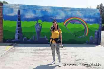 Kleuterjuf wil als Bellie Ve doorbreken als graffitikunstenaar