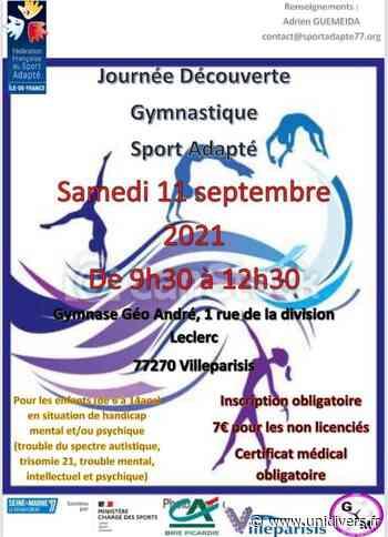 Journée découverte de la gymnastique, sport adapté Gymnase Géo André samedi 11 septembre 2021 - Unidivers
