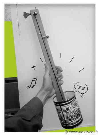 Atelier Fabrique ta musique ! Lille / Médiathèque Saint Maurice Pellevoisin samedi 9 octobre 2021 - Unidivers