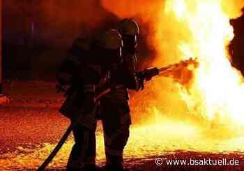 Wohnwagen in Dettingen in Flammen: 34-jähriger tatverdächtig - BSAktuell
