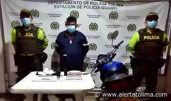 Le hicieron el pare a motociclista y le hallaron base de coca en el Guamo - Alerta Tolima