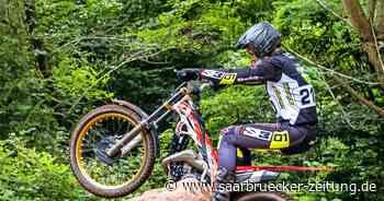 Motorrad-Trial: Auftakt zur Deutschen Meisterschaft in Lebach - Saarbrücker Zeitung