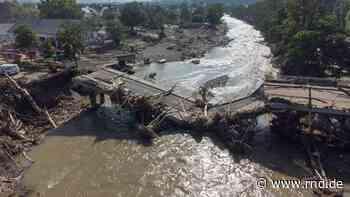 Hochwasser in Bad Breisig, Rheinland-Pfalz: Betroffene schildert Situation im Hochwassergebiet - RND