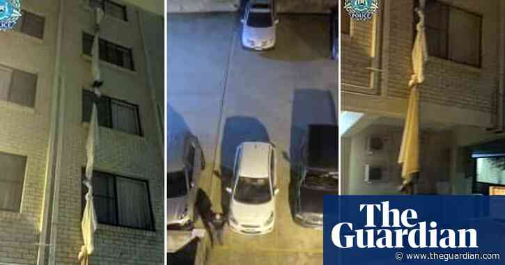 Man arrested after dramatic escape from Perth hotel quarantine - The Guardian Australia