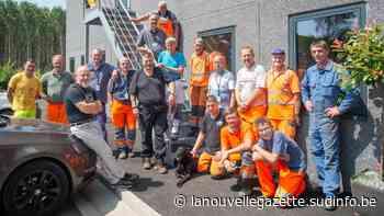 Des agents communaux solidaires face aux inondations à Ham-sur-Heure/Nalinnes - Sudinfo.be