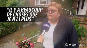 """Situation très compliquée à Ham-sur-Heure et Jamioulx: """"Je n'ai plus rien, plus d'électricité, plus de téléphone, rien"""", déplore Yolande - RTL info"""