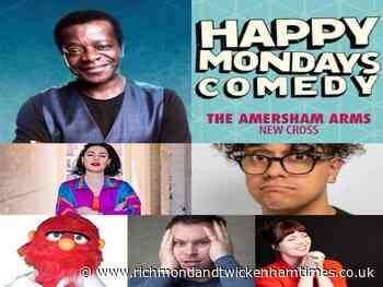 Happy Mondays Comedy at The Amersham Arms New Cross : Stephen K Amos, Josh Weller and guests - Amersham Arms - Richmond and Twickenham Times