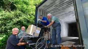Aus Ganderkesee nach Gambia: Ein Container voll mit Hilfe - WESER-KURIER - WESER-KURIER