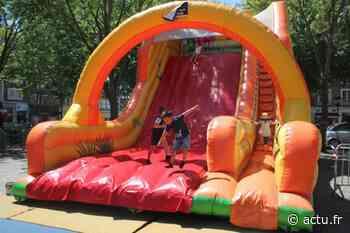 """Animation """"Place à l'été"""" à Lisieux : structures gonflables, trampoline et divers jeux à Hauteville - actu.fr"""