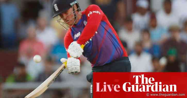 Pakistan set England 155 to win T20 international series – live!