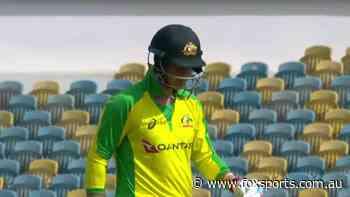 Australia vs West Indies ODI: Marsh walks off mid-review as Aussie debutant's hot start cruelled by brain fade