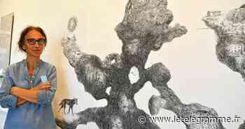 Myriam Lavigne expose ses « Vagues » à l'atelier des Ursulines à Lannion - Le Télégramme