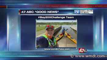 Father and son kayaking to raise money for hunger relief - 47abc - WMDT