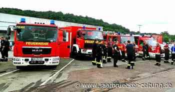 Wehr Weiskirchen hilft bei Hochwasser-Einsatz in Kordel in Rheinland-Pfalz - Saarbrücker Zeitung