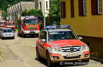 KFV-CW: Geschaffte Feuerwehrleute von Fluthilfe in Kordel wieder zurück - Presseportal.de