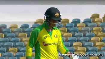 Australia vs West Indies ODI: Marsh walks off mid-review, Aussies stumble as new captain arrives