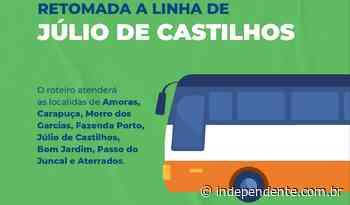 Linha de ônibus retorna no interior de Taquari nesta semana - independente