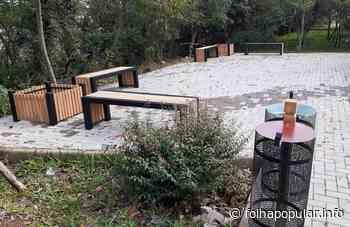 Orla do rio Taquari em Bom Retiro do Sul recebe novo mobiliário urbano - Folha Popular