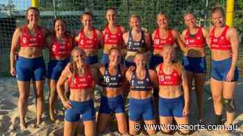'Disgraceful': Norwegian women's beach handball team fined for wearing shorts
