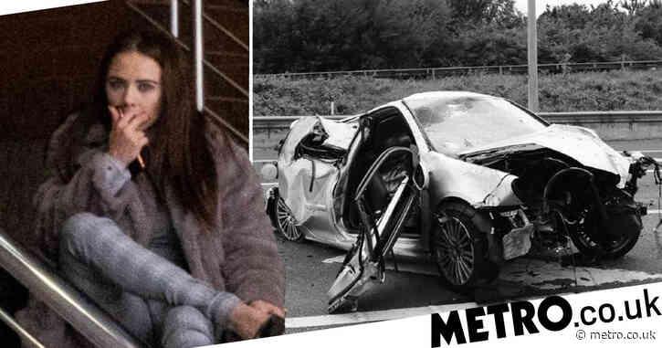 High mum filmed herself on Snapchat hitting 88mph before motorway crash