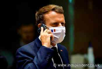 Emmanuel Macron's phone 'on list of 50,000 possible targets' in Pegasus spyware case