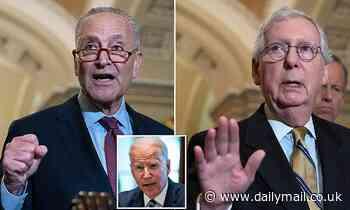 Biden's $1trillion infrastructure deal on the brink