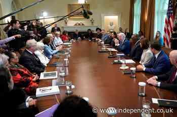 At six months, Biden convenes Cabinet but roadblocks loom