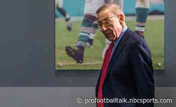 """Stephen Ross hopes his Dolphins are hoisting Lombardi Trophy in a """"very short time"""""""